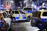 Myndigheten Brås uppgift är att verka för minskad brottslighet och ökad trygghet i Sverige. Bilden visar polisens avspärrningar i Helsingborg efter en skjutning 2016.