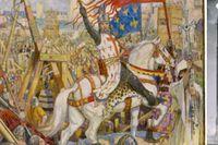 Rikard Lejonhjärta är inte begravd i Westminster Abbey.