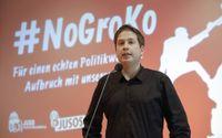 Det socialdemokratiska ungdomsförbundets ordförande Kevin Kühner kan utmana nuvarande partiledaren Martin Schulz.