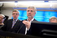 Konstitutionsutskottet (KU) med ordförande Peter Eriksson i spetsen.