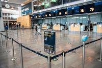 46000 personer reste via Stockholm Arlanda Airport i april 2020. Arkivbild.