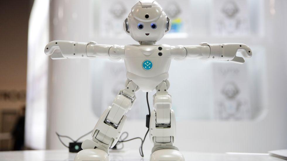 UBTECH:s Lynx, en humanoidrobot.