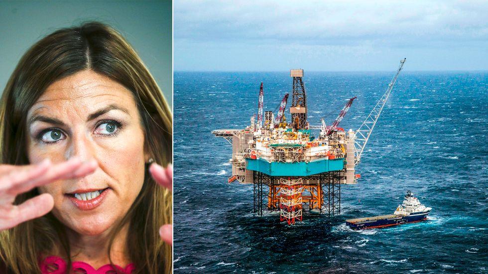 Thina Saltvedt, oljeanalytiker på Nordea i Oslo, ser en ökad splittring kring landets oljeproduktion.