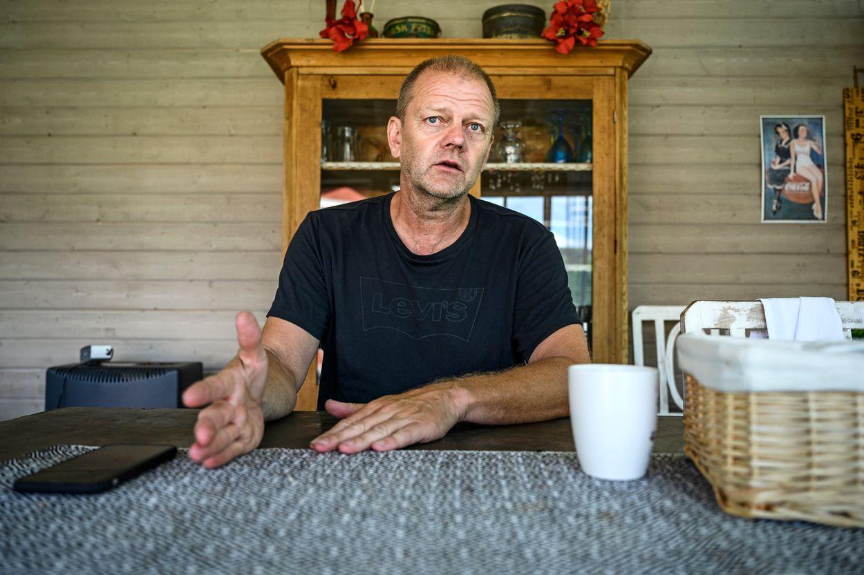 Kriminalutredaren Ola Pettersson är övertygad om att vapnen som slussades vidare från Dalarna finns i den undre världen idag.