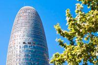 Torre Agbar i Barcelona.