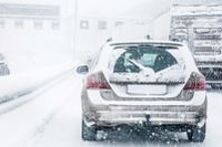 Nya varningar för kraftiga snöfall utfärdats inför veckoslutet. Arkivbild.