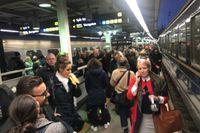 Ett signalfel i början av november orsakade stora förseningar i tågtrafiken.