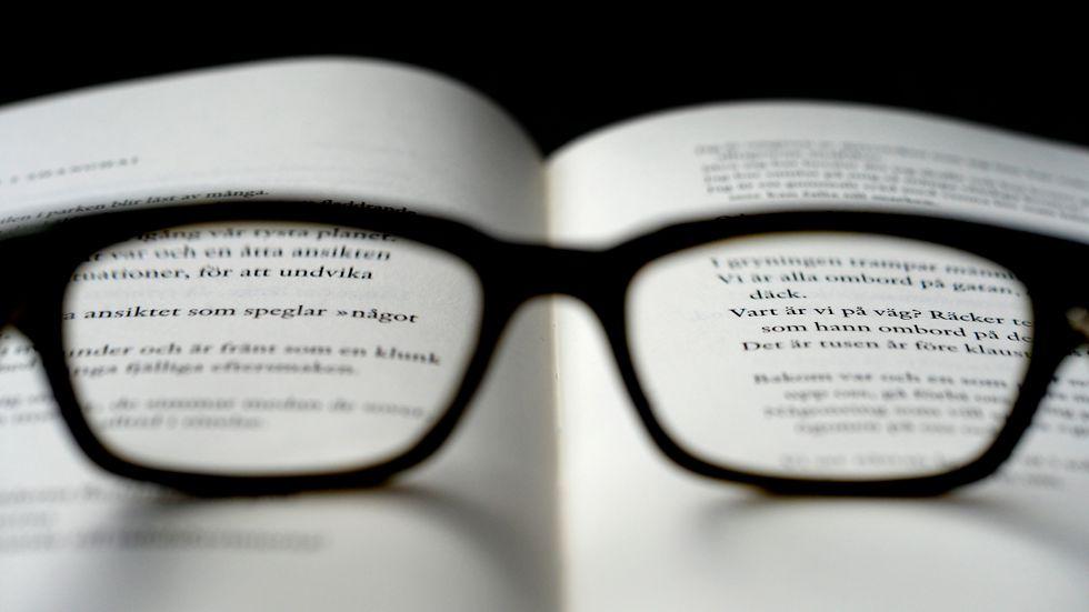 Ljusreceptorer i ögonen kan innehålla svaret på vad som orsakar dyslexi. Arkivbild.