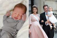 Prinsen Nicolas Paul Gustaf föddes på Danderyds sjukhus på måndagen.