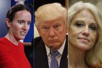 Lindsay Walters, Donald Trump och Kellyanne Conway.