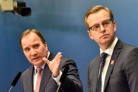 Statsminister Stefan Löfven (S) och närings- och innovationsminister Mikael Damberg (S).