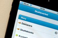 Bedragarna har kapat offrens konton via skatteverket.se. Arkivbild.