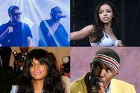 Run the Jewels, Tinashe, M.I.A. och Frank Ocean hoppas vi alla släpper nya album i år.