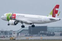 En Airbus A320-251N går in för landning. Arkivbild.