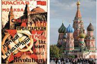 Moskva präglas av både revolutionär storslagenhet och tidlös andlighet.