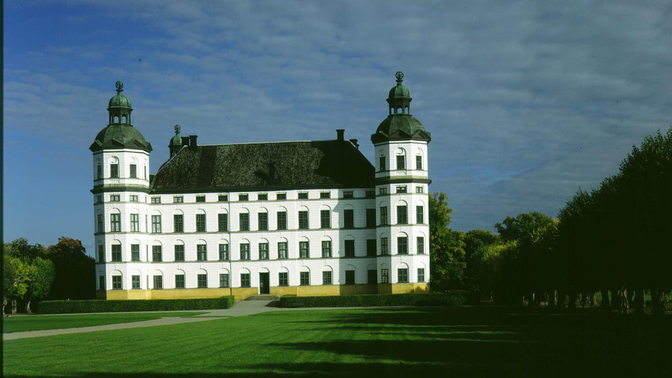 Skoklosters slott.