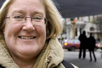Lillemor Smedenvall, ordförande för finansförbundet.