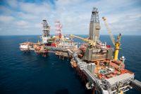 Jakten på nya olje- och gaskällor i norska vatten fortsätter. Arkivbild
