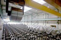 Gränges aluminiumproduktion.