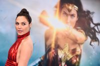"""Gal Gadot spelar huvudrollen i """"Wonder Woman"""". Arkivbild."""