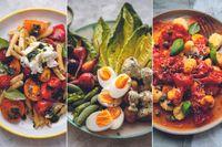 Vegetariska middagar för lata sommarkvällar