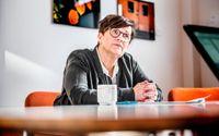 Pensionsmyndighetens generaldirektör Katrin Westling Palm.