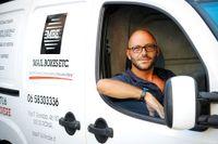 """""""Fram till krisen fick en ingenjör jobb som ingenjör. Nu får han kanske jobb som servitör"""", säger Emanuele di Giorgio."""