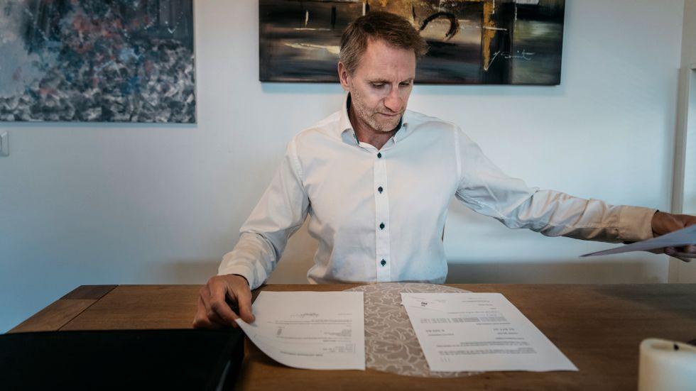 SvD har tidigare skrivit om Peter Hagel som känner sig lurad av Global Corporate Services, tidigare Panlegis.