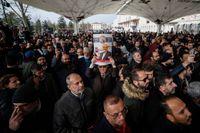 Eftersom den mördade Jamal Khashoggis kropp ännu inte hittats genom genomfördes en symbolisk begravningsceremoni av hans vänner och supportrar i Istanbul, i november.