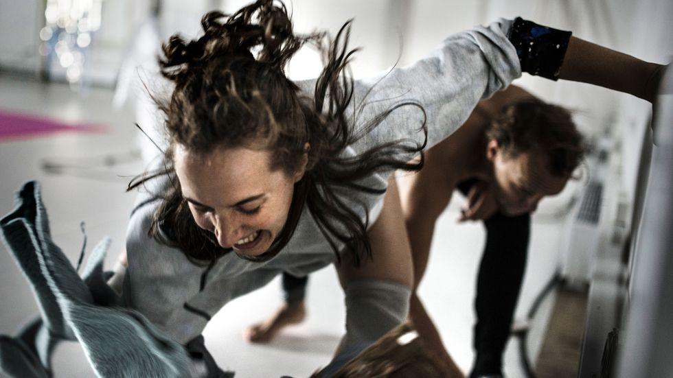 Allison Ahl och Sebastian Lingserius.