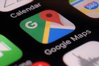 Google maps, även en vägvisare mot grönare resor? Arkivbild.
