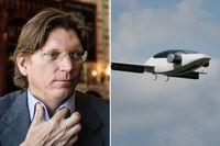 Skype-grundaren Niklas Zennström investerar i flygande eldriven taxi.