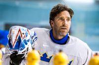 Henrik Lundqvist tvingas avstå kommande säsong på grund av ett hjärtfel. Arkivbild.