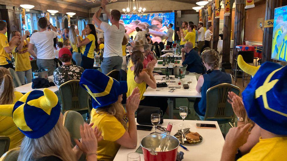 Med mindre än ett dygn kvar till avspark har OS-finalen flyttats fram, något som glädjer många av Sveriges krögare. Arkivbild.