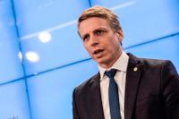 Finansmarknadsminister Per Bolund vill att Stockholmsbörsen ska vara transparent när det gäller högfrekvenshandeln.