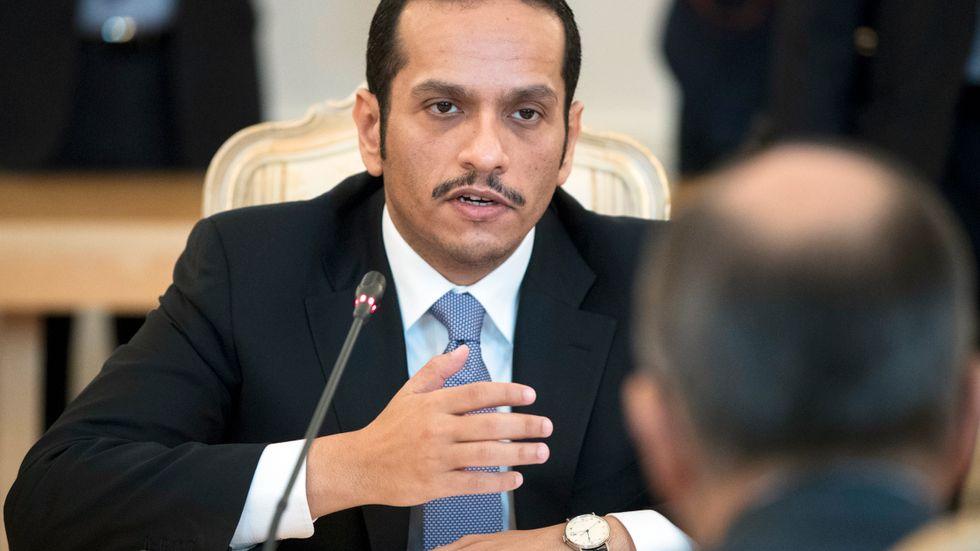 Qatars utrikesminister Mohammed bin Abdulrahman bin Jassim Al Thani har haft mycket att göra den senaste veckan.