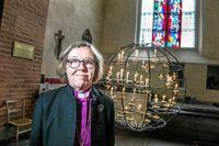 Eva Brunne, biskop i Stockholms stift.