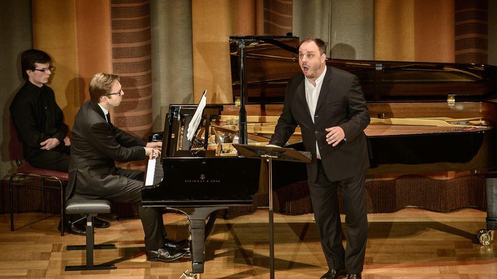Matthias Goerne, baryton, och Leif Ove Andsnes, piano, framförde sånger som handlade om död mer än liv.