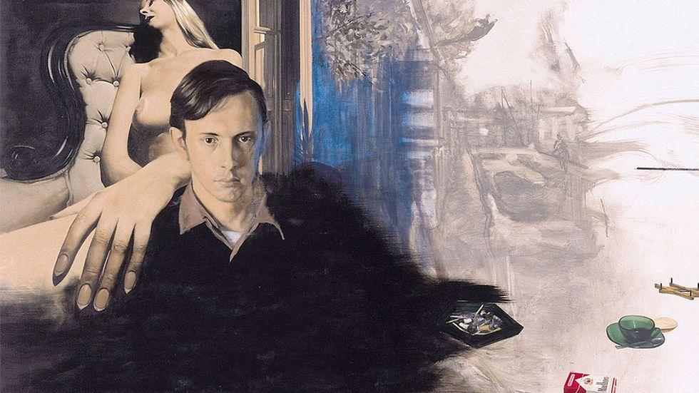 """Ola Billgren, """"En vän till mig"""", 1967.  (Observera att bilden är beskuren!)"""
