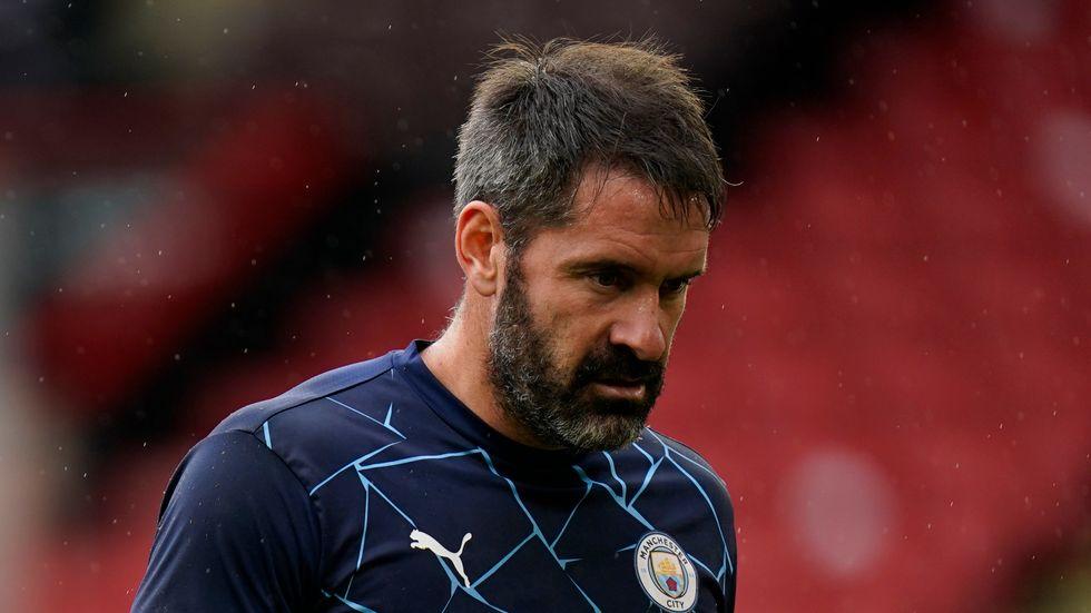 Målvakten Scott Carson är ett av tre nya coronafall i Manchester City. Arkivbild.