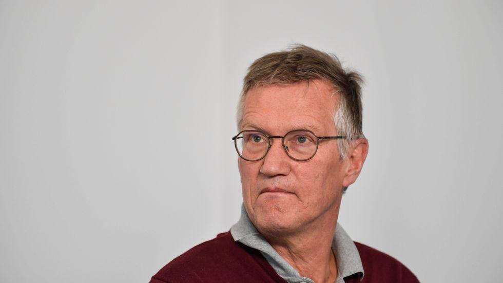 Om vi inte lyckas stoppa smittspridningen på våra äldreboenden kan mycket väl antalet döda öka kraftigt, tror Anders Tegnell.