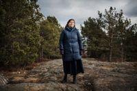 Maria Persson Löfgren en dryg vecka efter attacken i Ingusjien.