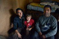 Srđan Kadrić och Sahdna Omerović bor med sonen Kristijan och en av sina döttrar i Belgrads största informella boplats.