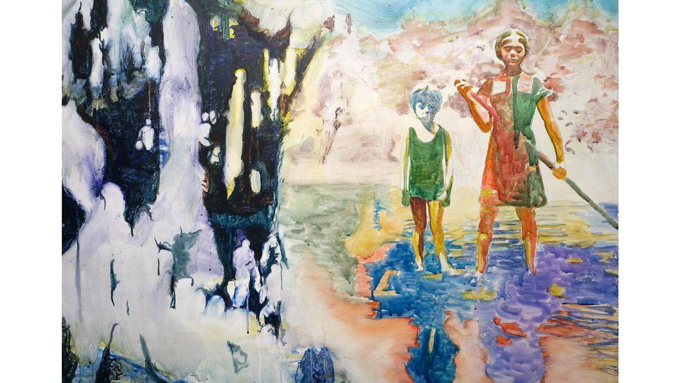 """Andres Romare, """"Friends forverer"""", 2016."""