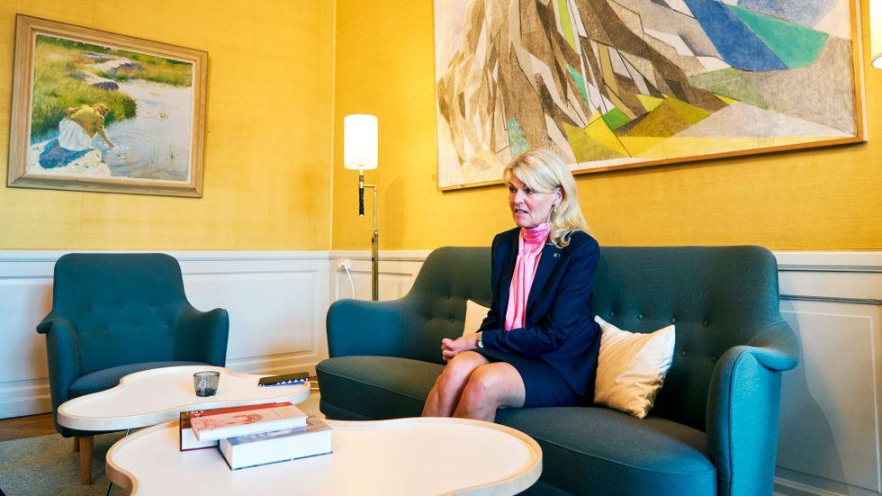 Nordenminister Anna Hallberg (S).
