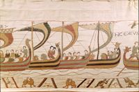 Vikingaskepp.