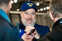 """Rikard Grönborg har slutat som Tre Kronors förbundskapten och ersatts av Johan Garpenlöv. """"Jag kommer att följa dem och kan jag vara till någon hjälp för den gruppen så är jag gärna det"""", säger Grönborg. Arkivbild."""