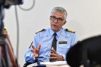 Rikspolischef Anders Thornberg. Arkivbild.