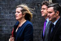 Den förra energi- och klimatministern Amber Rudd ledde det brittiska förhandlingsteamet kring Parisavtalet. Idag har hon uppdrag för det norska energiföretaget Equinor  (tidigare Statoil).