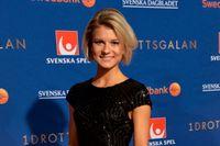 Jenny Rissveds prisades för Årets prestation på Idrottsgalan.